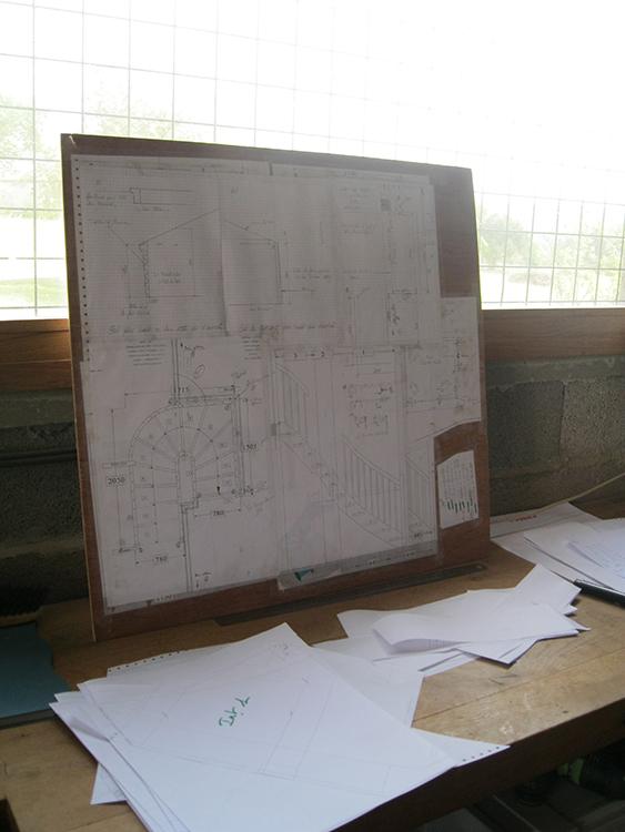2-Réalisation des plans sur informatique