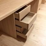 Bureau avec plateau en chene (1)
