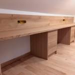 Bureau avec plateau en chene (2)