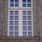 Fenêtre à meneau chêne