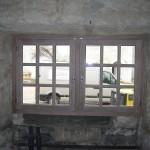 Fenêtre en chêne cérusé