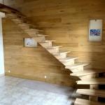 Escalier à limon central (3)