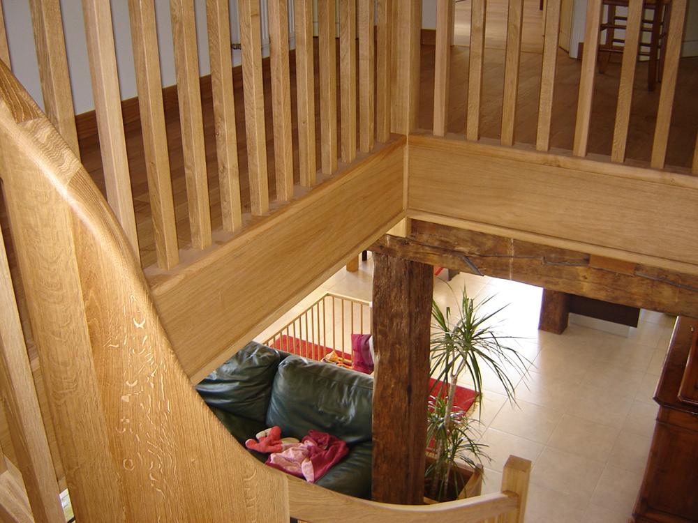 Escalier à noyau - 2