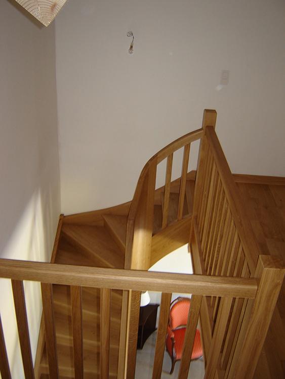 Escalier à noyau