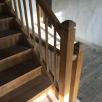 Escalier avec barreaux droits à 45°2