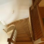 Escalier courbe avec pallier d'arrivée (1)