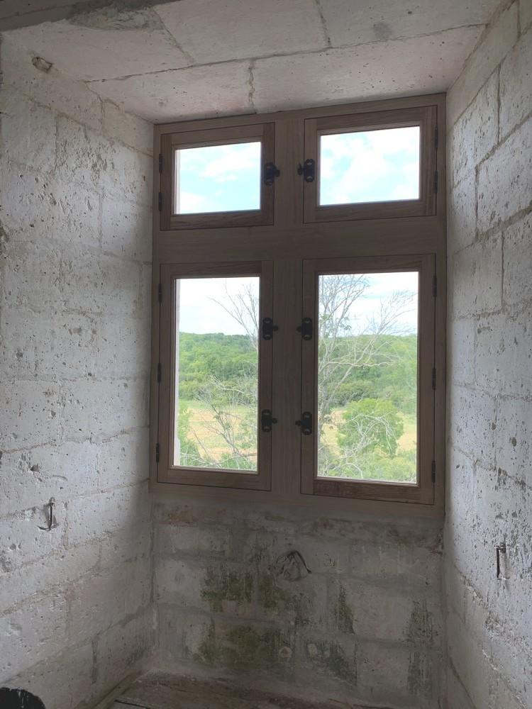 Fenêtre à meneau