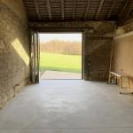 Pliant coulissant pour ancienne ouverture de grange (3)