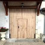 Portail de grange avec porte centrale (2)