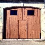 Portail de grange avec portillon central (2)