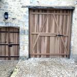 Portail et portillon d'entrée (1)