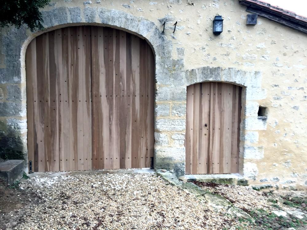 Portail et portillon d'entrée (2)