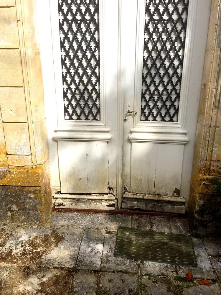 Portes eurl landais menuiserie - Porte d entree ancienne ...