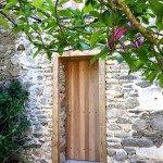 Porte avec ossature bois (1)