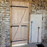 Porte avec ossature bois (2)