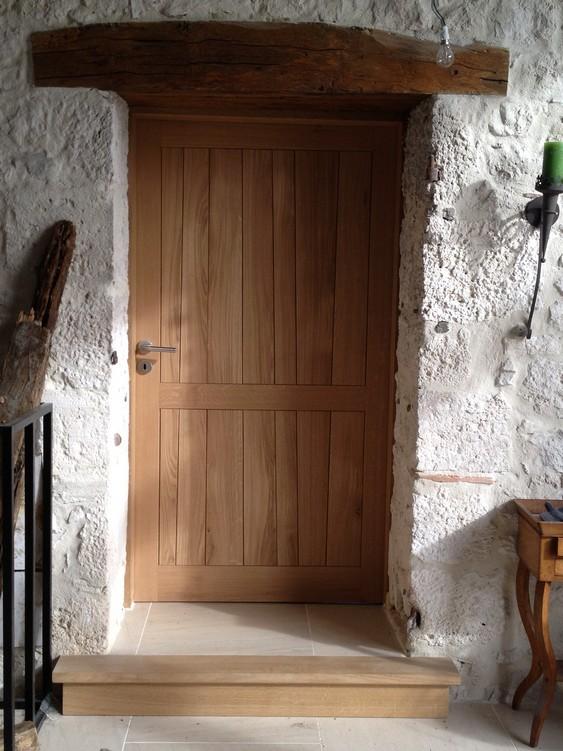 Porte intérieure en chêne