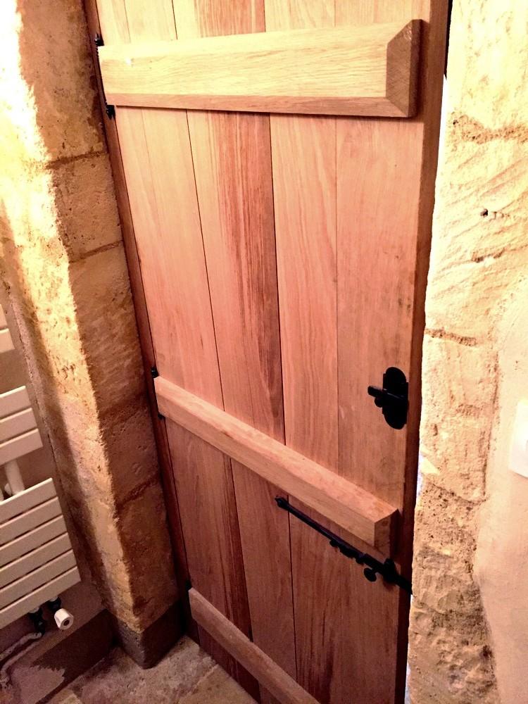 Porte intérieure en chene