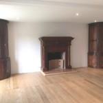Restauration d'un habillage de cheminée et réalisation de plancher cloué (1)