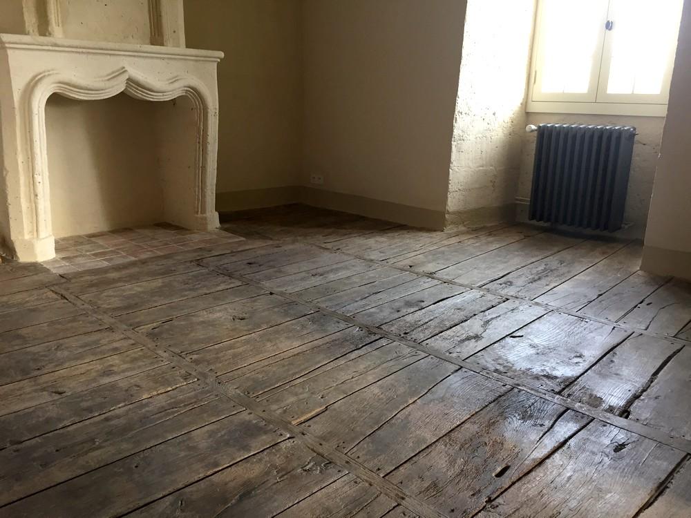 Restauration d'un plancher