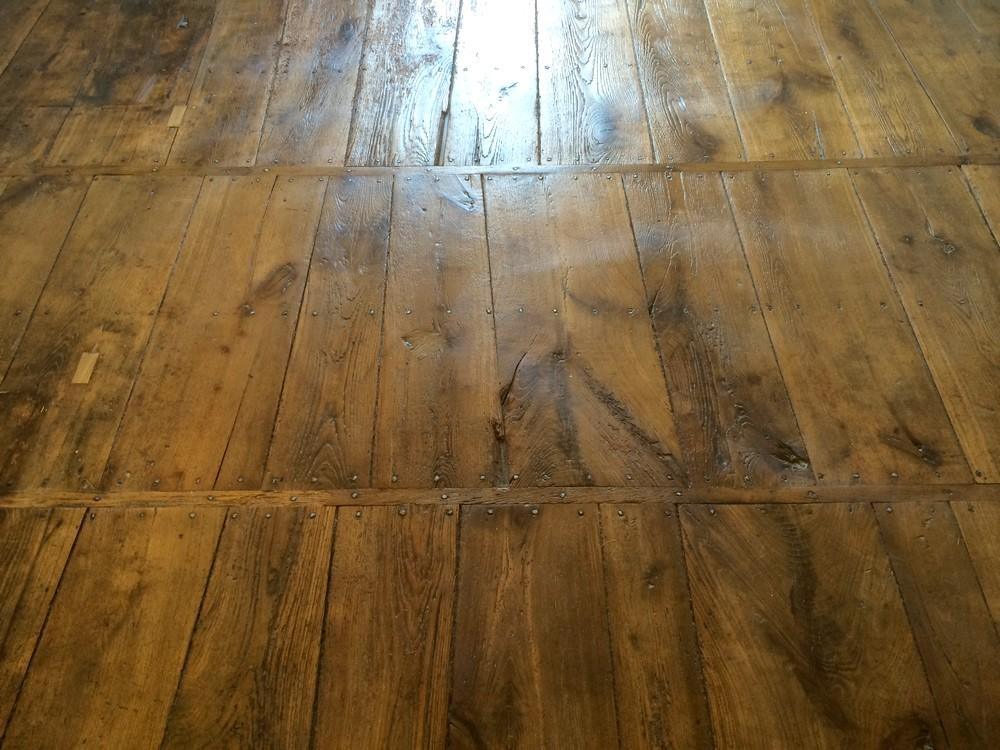 Restauration plancher