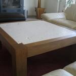 Table basse avec pierre de Paussac